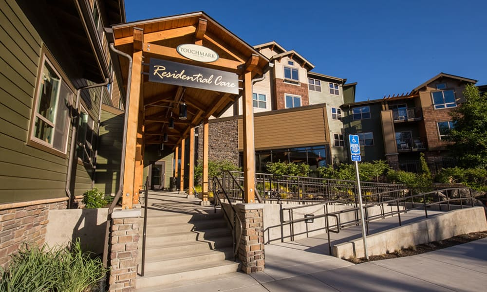 Residential care exterior at Touchmark at Mount Bachelor Village in Bend, Oregon