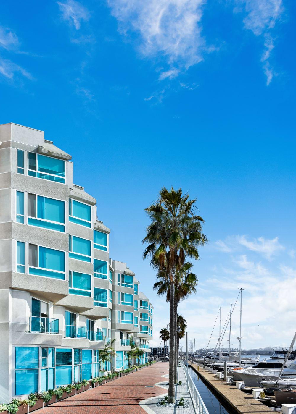 Luxury apartments at Esprit Marina del Rey in Marina del Rey, California