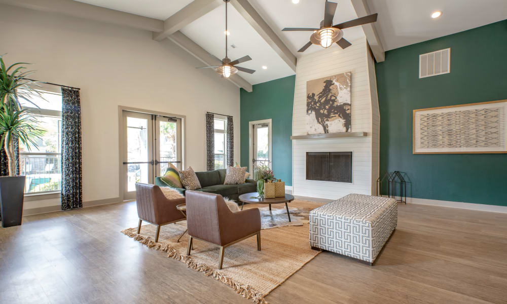 Clubhouse at Arya Grove in Universal City, Texas