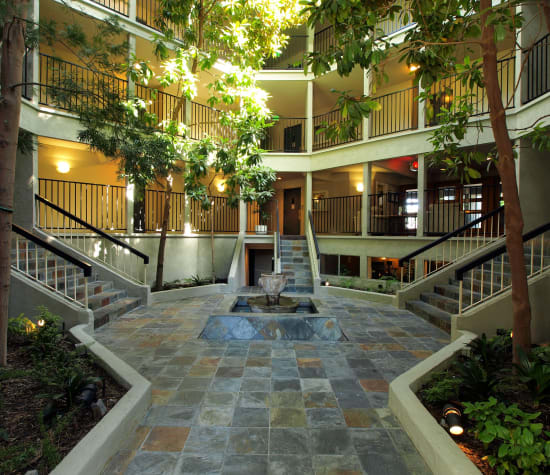 Atrium Downtown, a sister property near Park Central in Concord, California