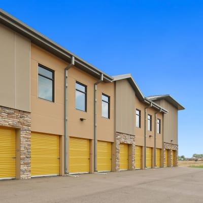 Outdoor ground floor units at Storage Star Ben White in Austin, Texas