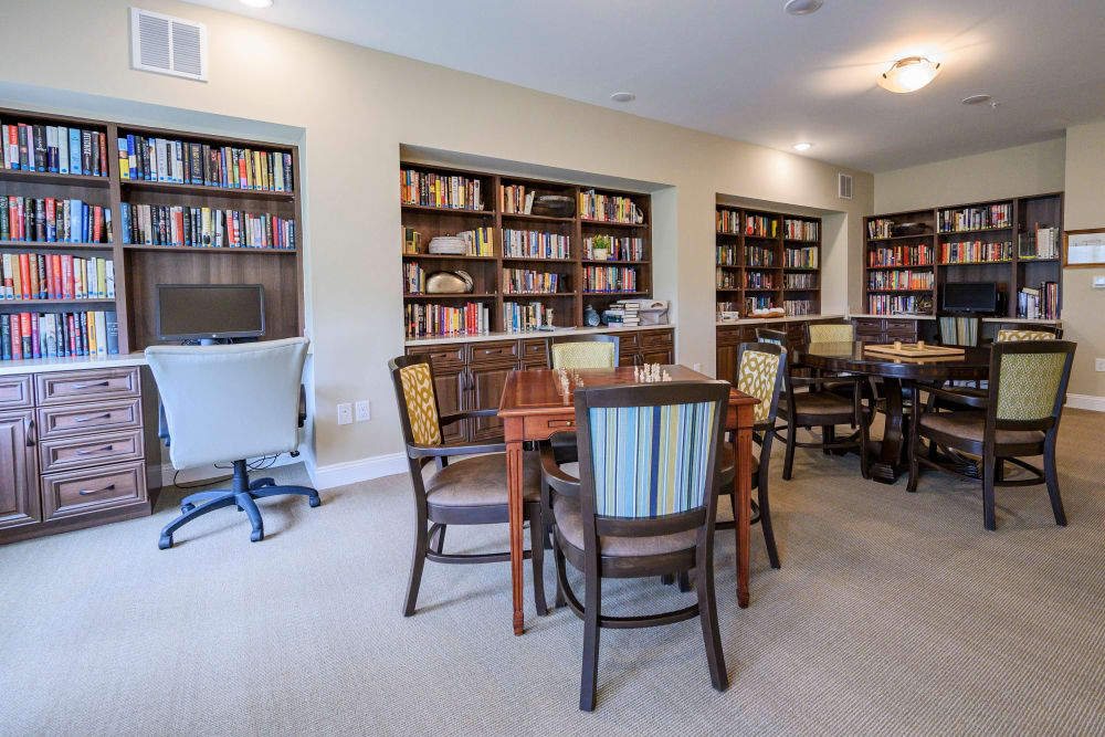 Library at Harmony at Brentwood in Brentwood, Tennessee