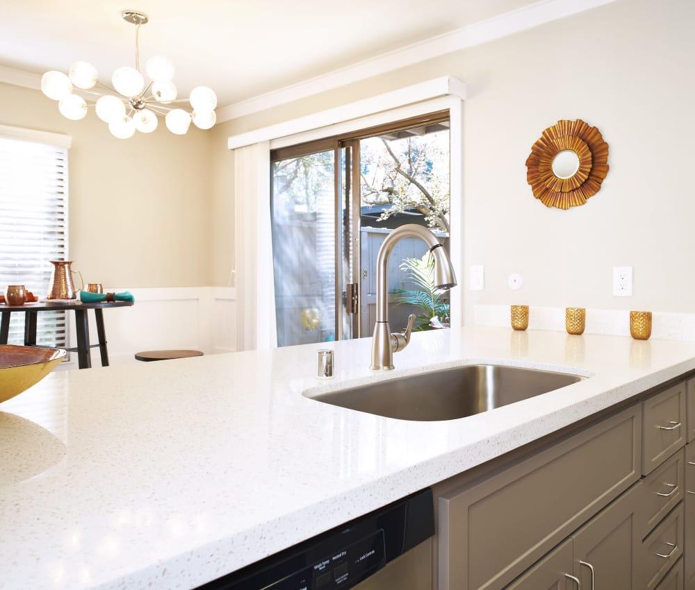 Kitchen sink at Marquee in Walnut Creek, California