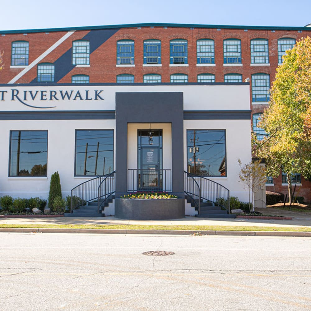 View the site for Lofts at Riverwalk apartments in Columbus, Georgia