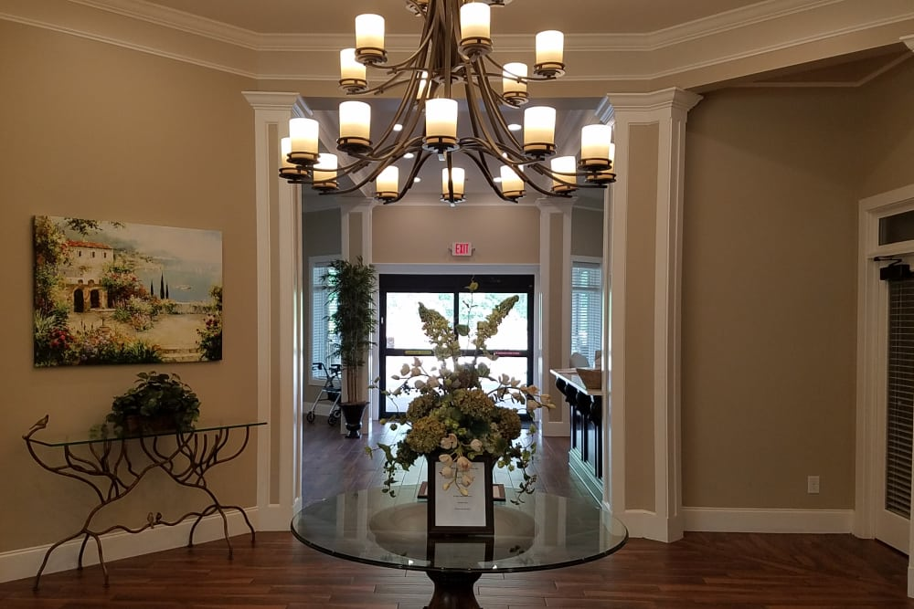 Blue Ridge Assisted Living entrance