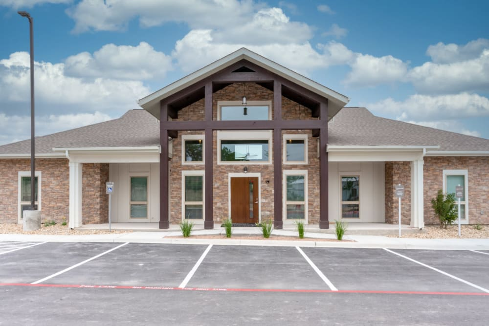 Clubhouse at Exeter Place in San Antonio, Texas