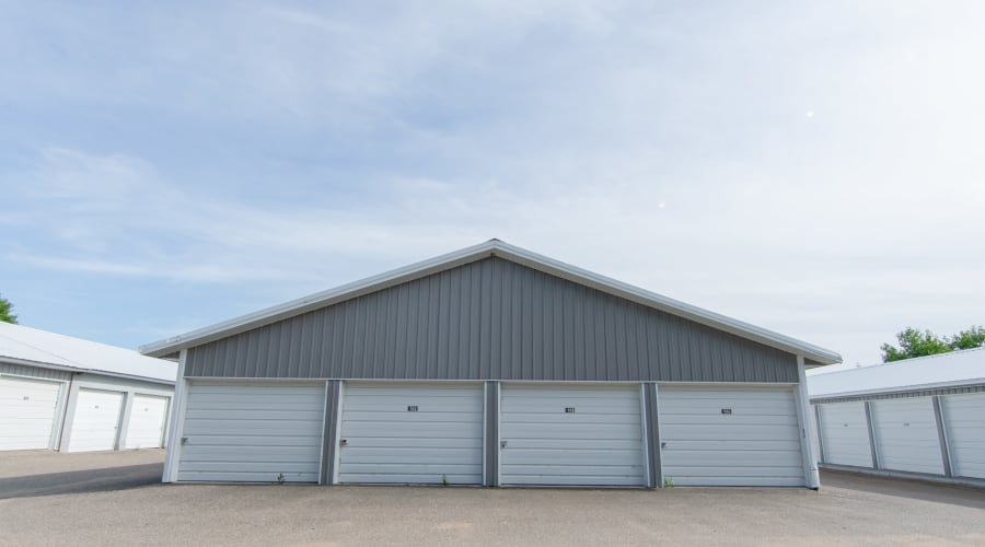 Exterior of outdoor units at KO Storage of Annandale - Hwy 55 in Annandale, Minnesota