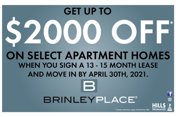 Brinley Place Apartments special