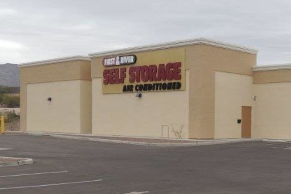 Air conditioned self storage in Tucson AZ at First and River Self Storage