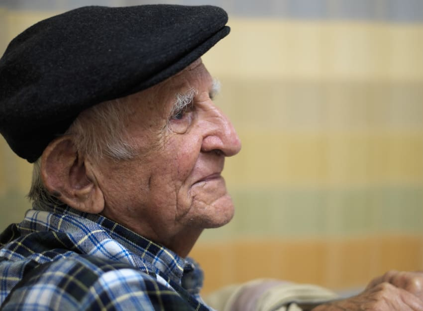 Senior man at Inglenook At Brighton in Brighton, Colorado