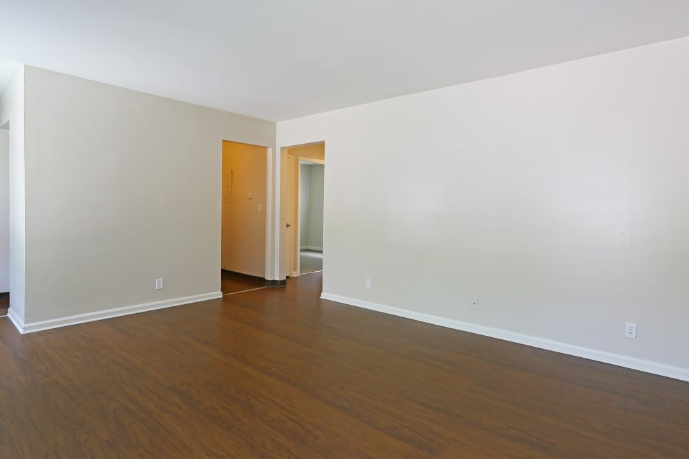 Hardwood Floors at the apartments in Nashville