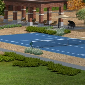 Amenities at The Crossing at Cooley Station in Gilbert, Arizona