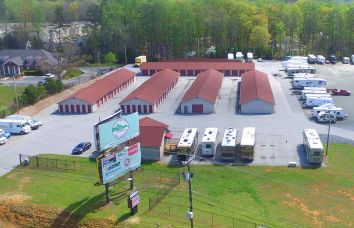 Space Shop Self Storage Hiram Acworth Hwy Location