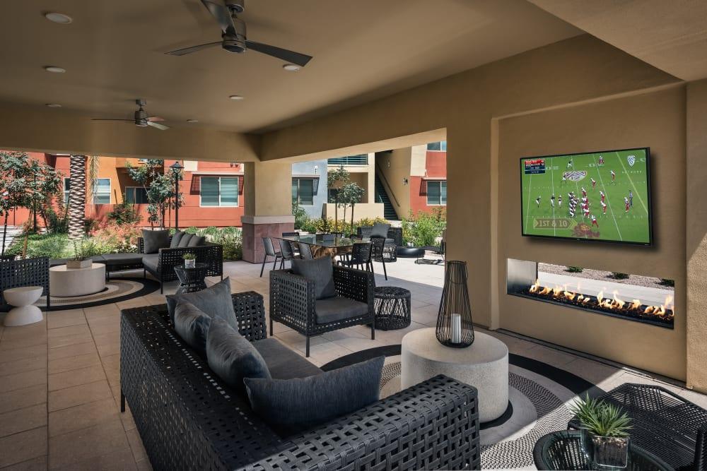 Residents will enjoy their community cabana at Villa Vita Apartments in Peoria, Arizona