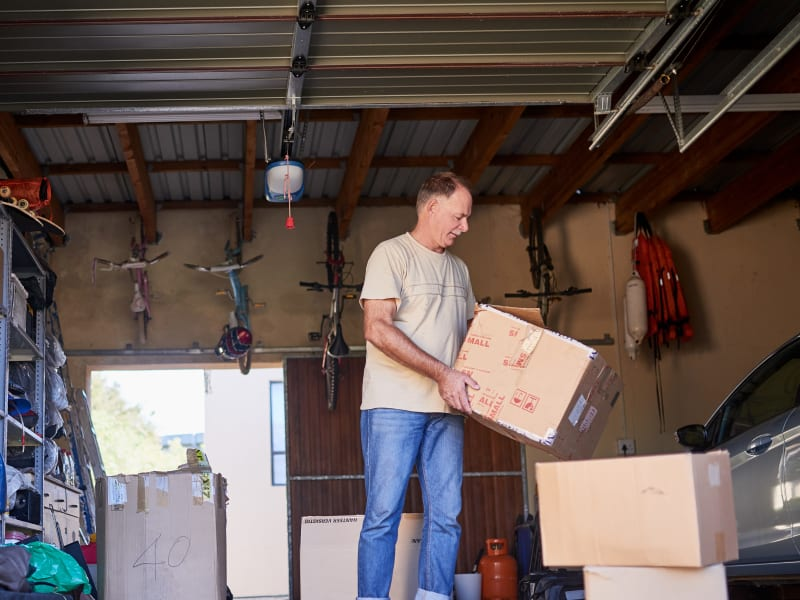 Moving with supplies from 603 Storage - Belmont in Belmont, New Hampshire