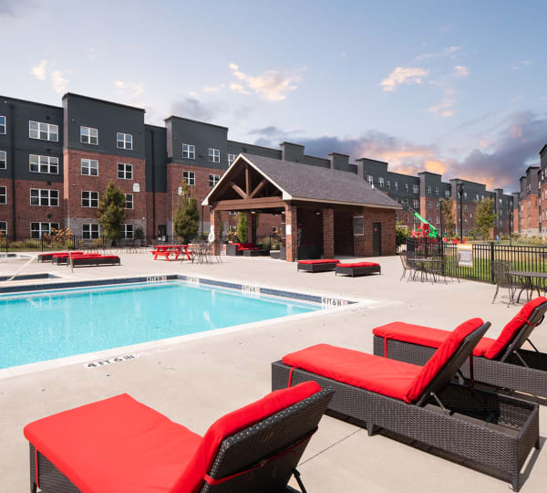 Amenities at Trifecta Apartments in Louisville, Kentucky.