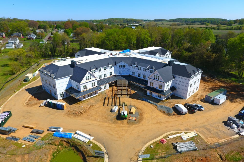 White Springs Construction Picture Front Ariel
