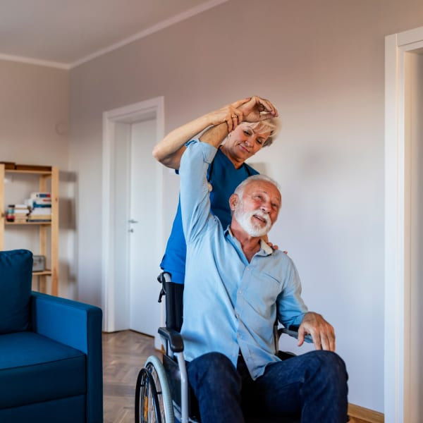 Physical Therapy at Careage Home Health in Bellevue, Washington.