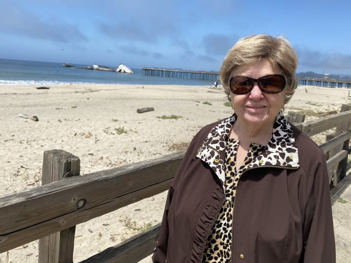 Gilroy residents enjoyed their time down at Seacliff with a lunch and wonderful ocean views.
