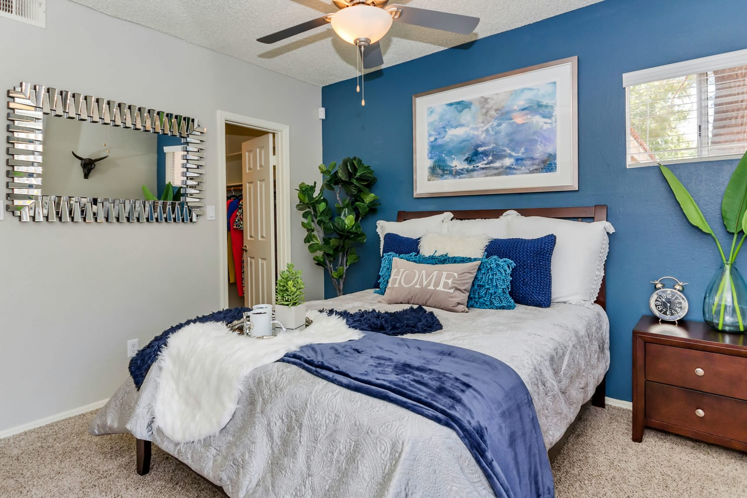 Bedroom at Alcove at the Islands in Gilbert, Arizona
