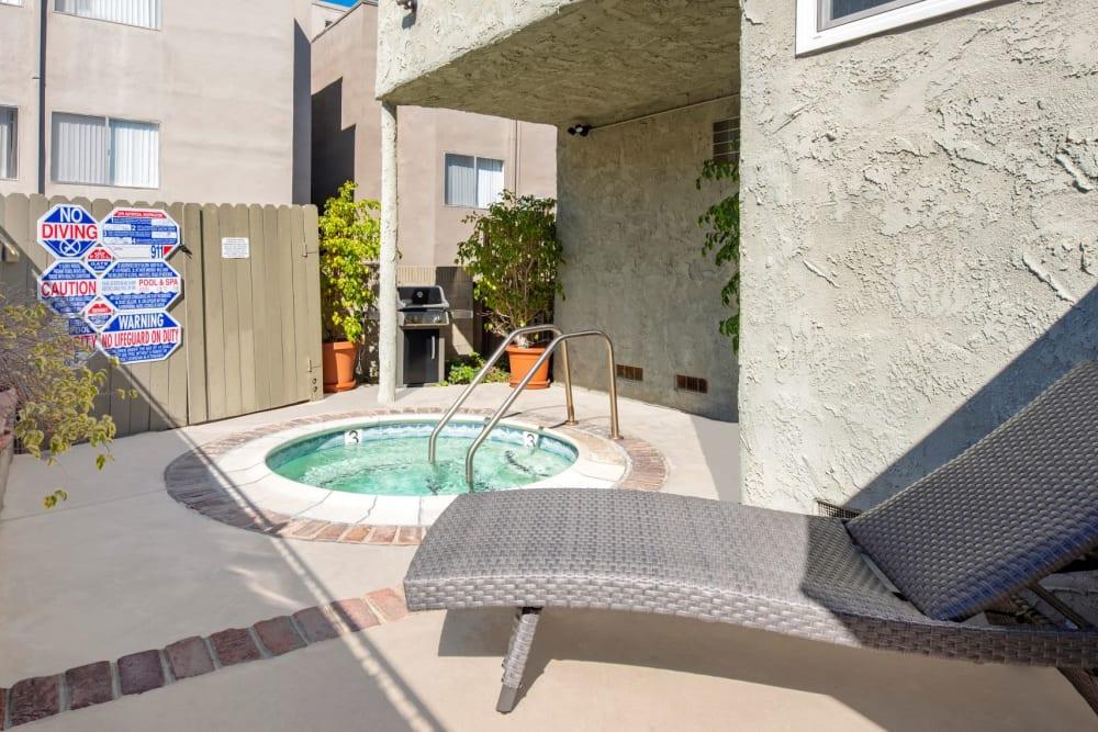 A spa at The Windsor in Sherman Oaks, California
