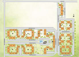 Printable site map image at The Loop on Greenfield in Oak Park, Michigan