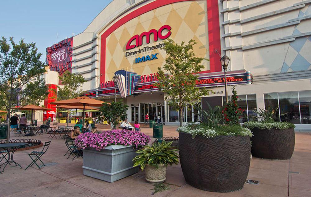 AMC theater near Easton Commons in Columbus, Ohio