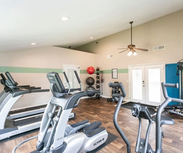 Magnolia Place's fitness center in Franklin, Tennessee
