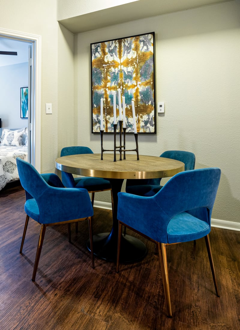 View our floor plans at Marquis Parkside in Austin, Texas