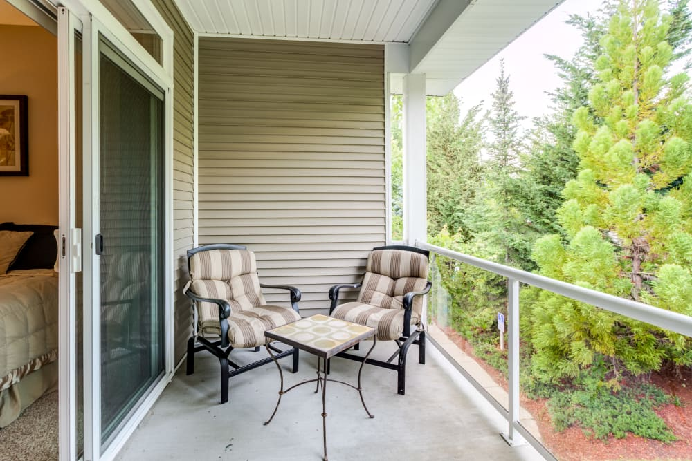 Enjoy Apartments with a Private Balconies & Patios in Puyallup, Washington