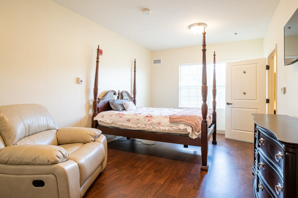 Bedroom at Harmony at Hope Mills in Fayetteville, North Carolina