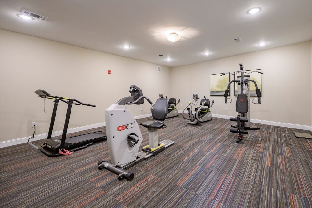 Fitness center at Harmony at Brentwood in Brentwood, Tennessee