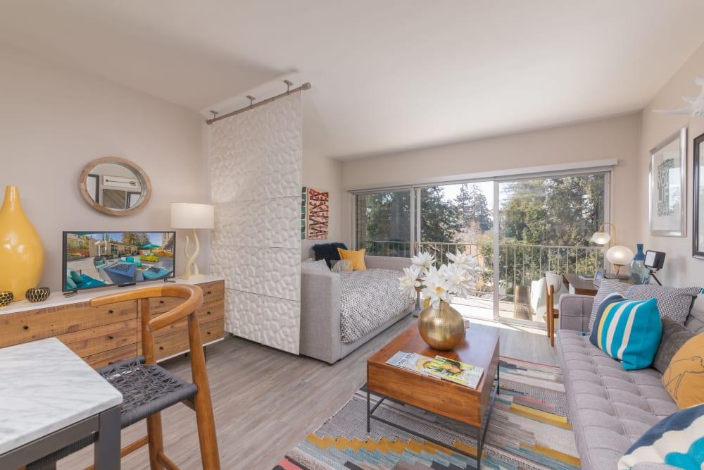 Luxury living room at Mia in Palo Alto, California