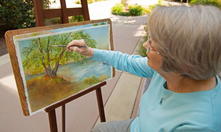 Active living programs at Merrill Gardens