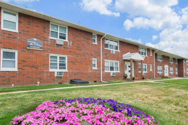 Enjoy the neighborhood at Monmouth Beach Village Apartment Homes