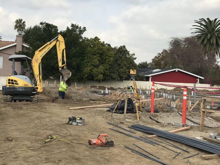 Construction Site, Torrance CA