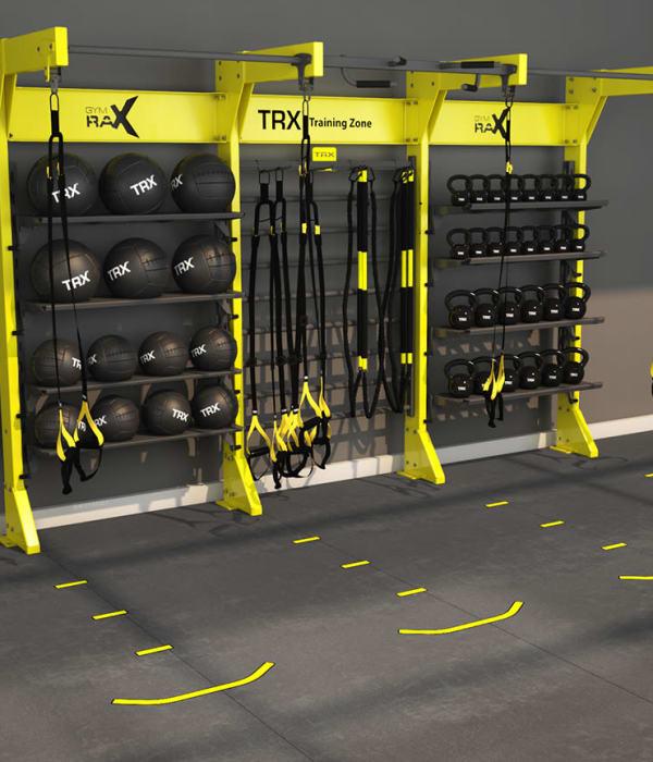 gym at Urban Flats
