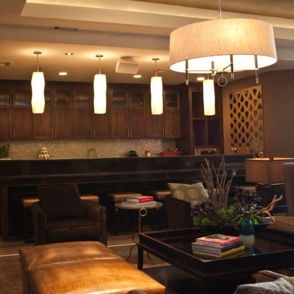 Resident Lounge at The Blvd in Irving, Texas