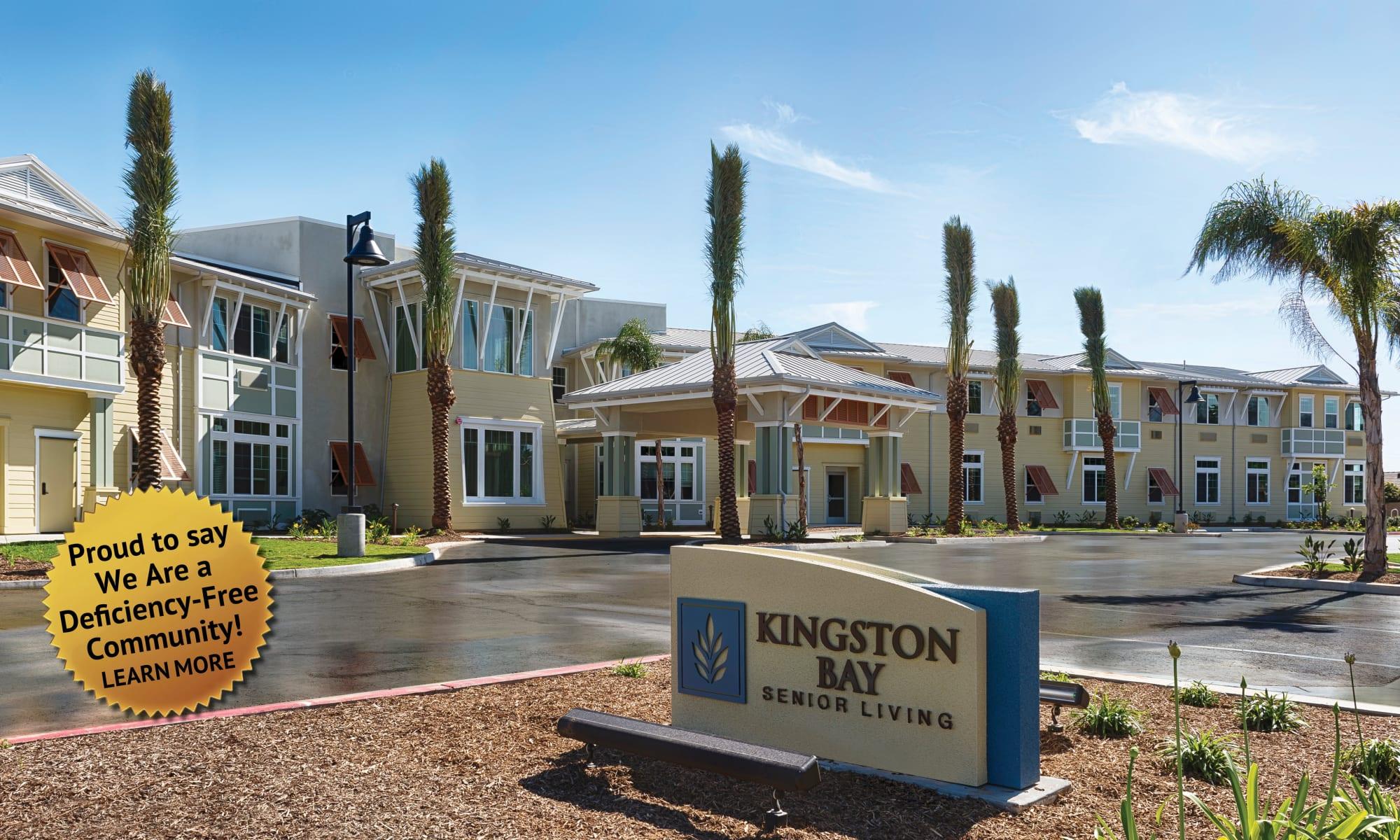 Senior living at Kingston Bay Senior Living in Fresno, California