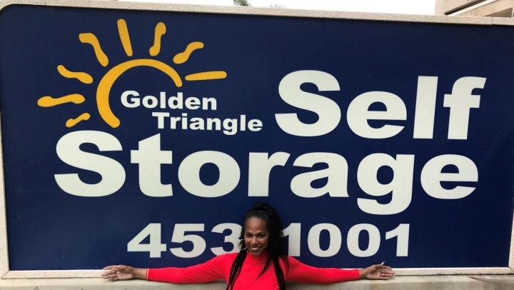 Golden Triangle Self Storage tenant Fitness by Design