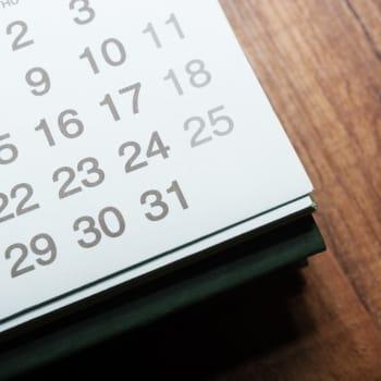 Memory Care Social Calendar at Preston House