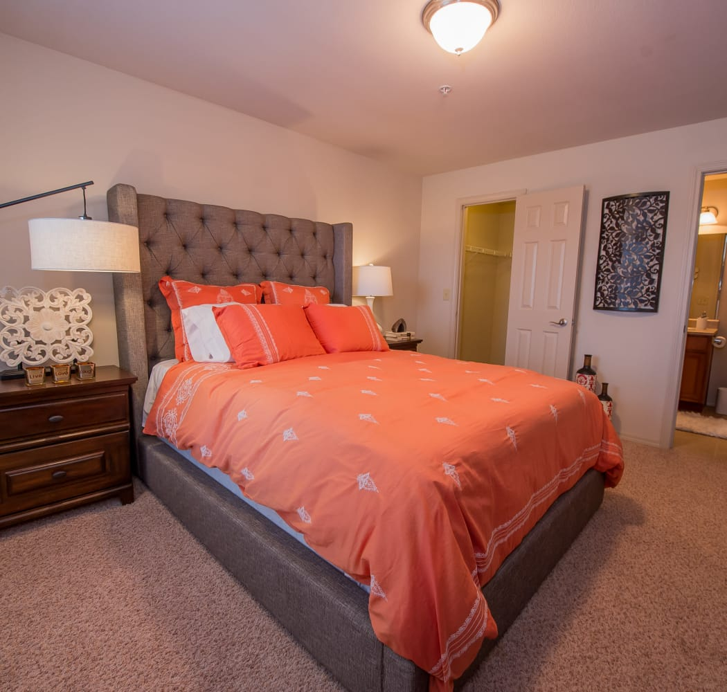 Prairie Springs master bedroom in Oklahoma City, Oklahoma