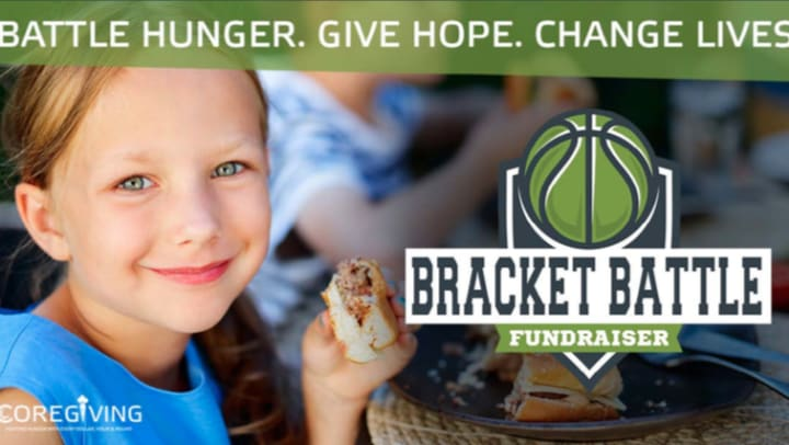 Battle Hunger by joining ShopCor in the Bracket Battle