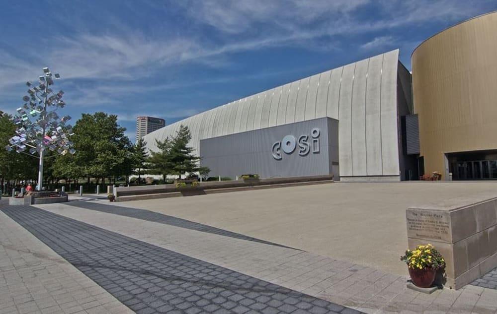 COSI near Easton Commons in Columbus, Ohio