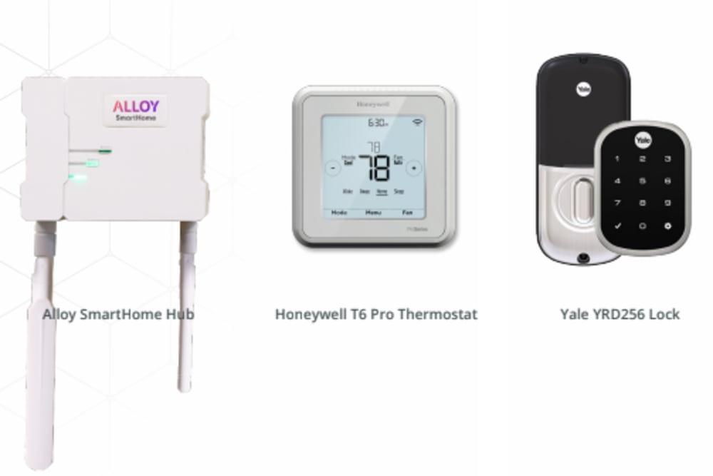 Smart home technology at Tavalo at Cadence in Mesa, Arizona