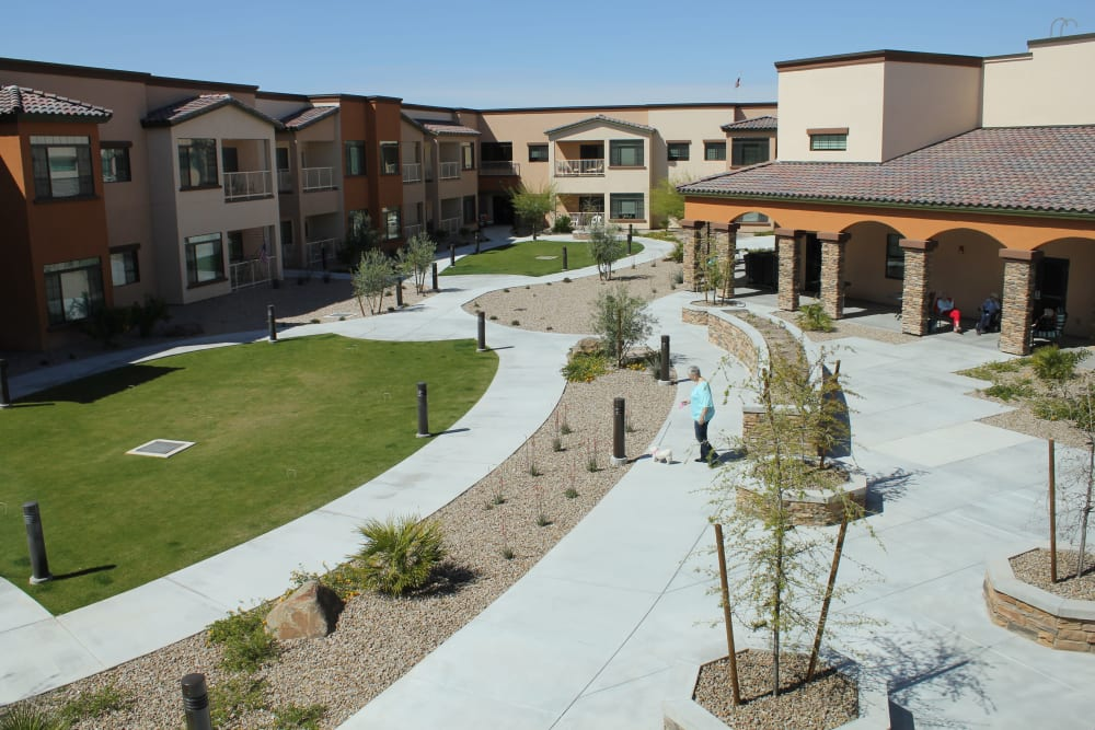 Exterior features at Orchard Pointe at Terrazza