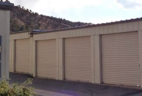 Outdoor storage units in Gypsum CO at Gateway Secure Storage