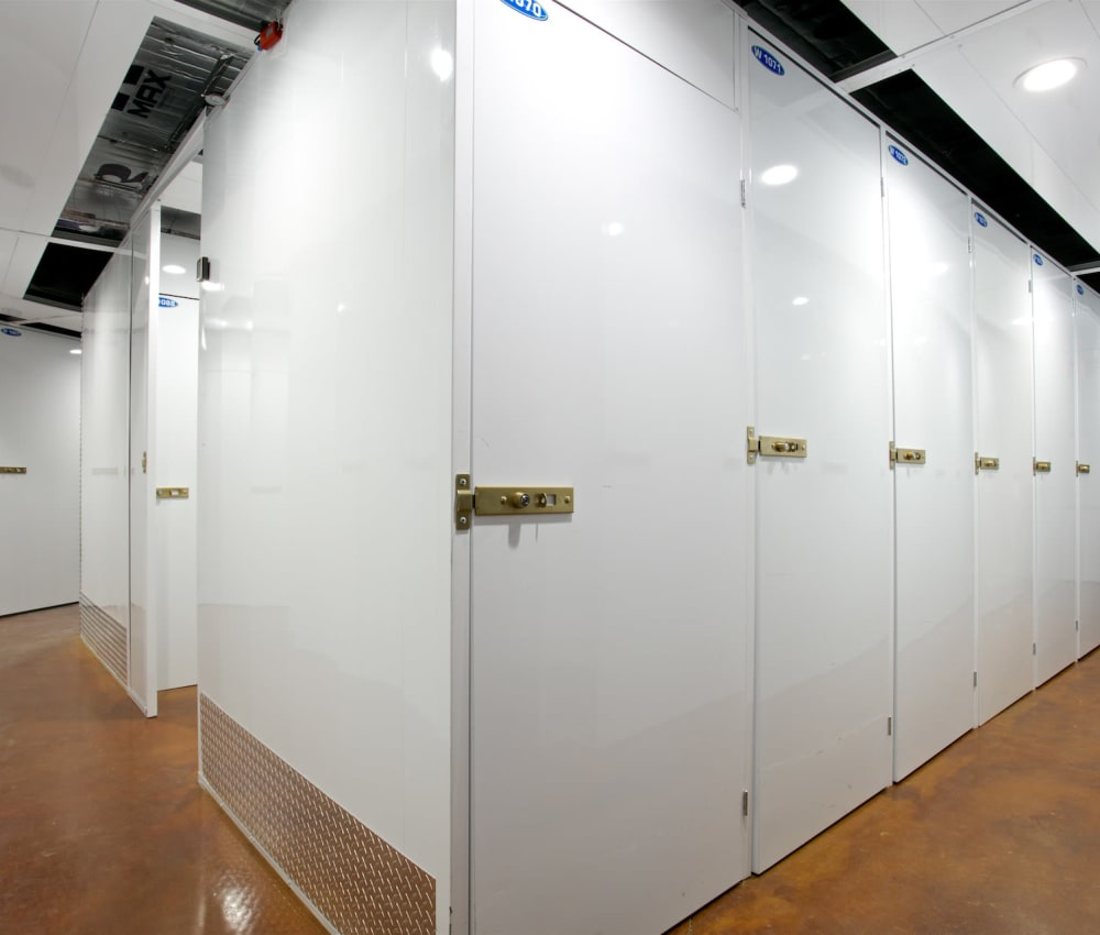 Specialty storage units at Pacific Highway Storage in San Diego, California