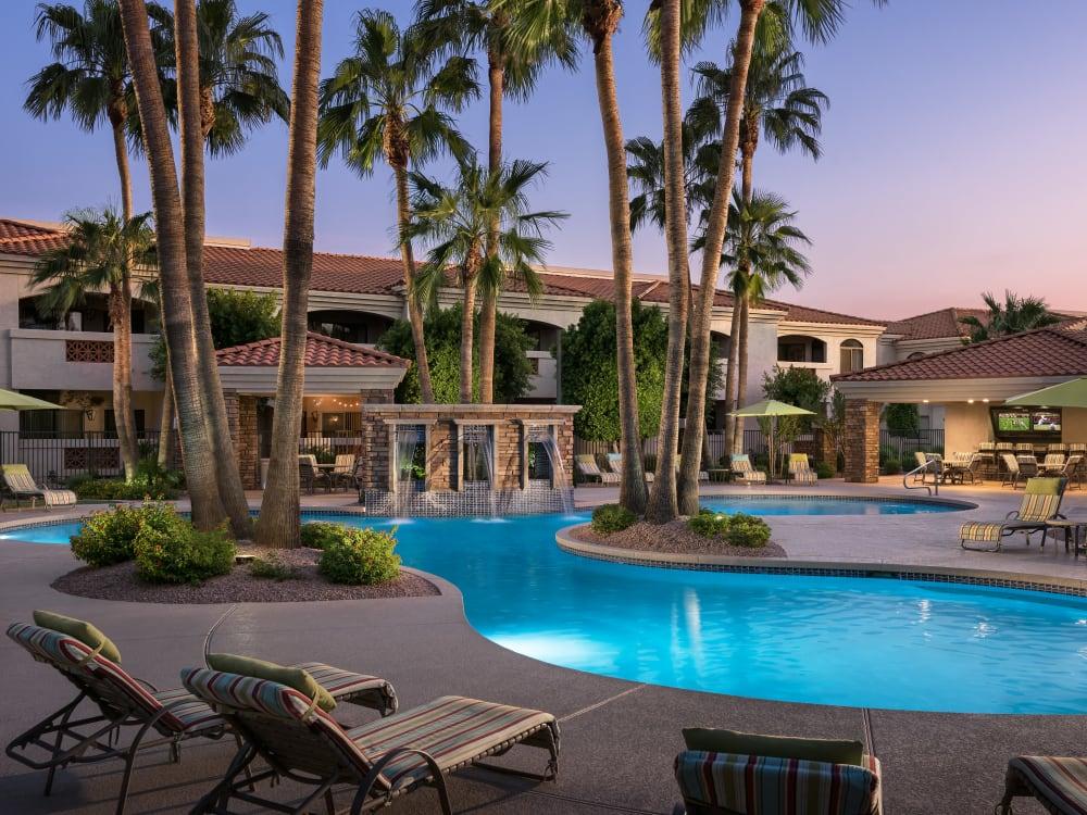 Swimming pool at San Prado in Glendale, Arizona