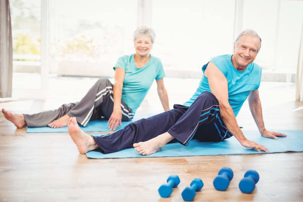 Fitness programs for Discovery Village At The Forum - Independent Living senior living residents.